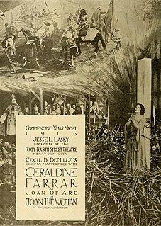 <i>Joan the Woman</i> 1916 film