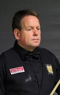 Joe Swail Northern Irish snooker player