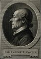Johann Caspar Lavater. Line engraving by J. H. Lips after hi Wellcome V0003405ER.jpg