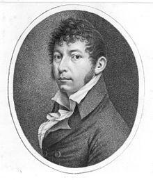 Johann Georg Heinrich Backofen, Selbstporträt um 1800 (Quelle: Wikimedia)