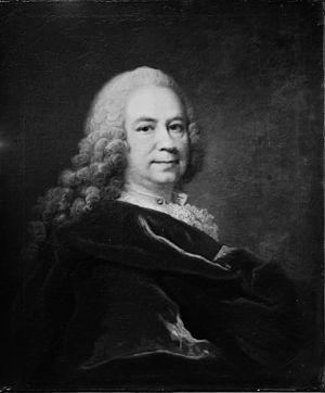 Johann Salomon Wahl - Self-portrait, Statens Museum for Kunst, 1755