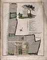 John Coakley Lettsom's house and gardens; plan of Grove Hill Wellcome V0018806.jpg