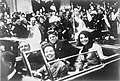 John F. Kennedy motorcade, Dallas.jpg