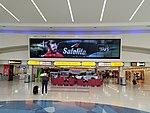 John Glenn International Airport Flight Information Board.jpg