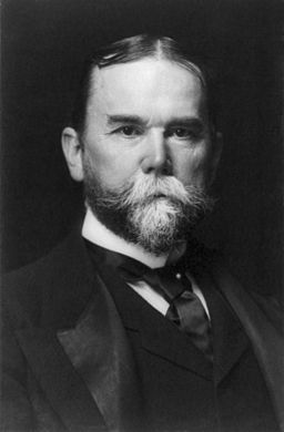 John Hay, bw photo portrait, 1897
