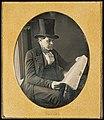 John Plumbe, Jr. (American, born United Kingdom - Man Reading a Newspaper - Google Art Project.jpg