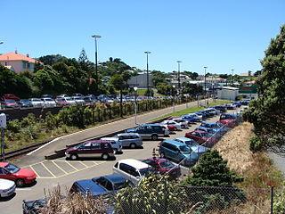 Johnsonville railway station New Zealand railway station