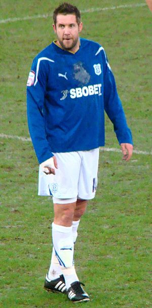 Jon Parkin - Parkin playing for Cardiff City in 2011