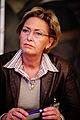Jonina Bjartmarz, miljo- och samarbetsminister Island, haller pressmote under Nordiska radets session i Kopenhamn 2006.jpg
