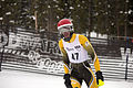 Jonty O'Callaghan competing in the slalom during the last day of the 2012 IPC Nor Am Cup at Copper Mountain.jpg
