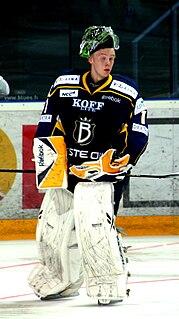 Jonathan Iilahti Finnish ice hockey player