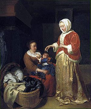 Joost van Geel - Painting that Houbraken described