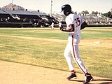 Michael Jordan in training with the Scottsdale Scorpions