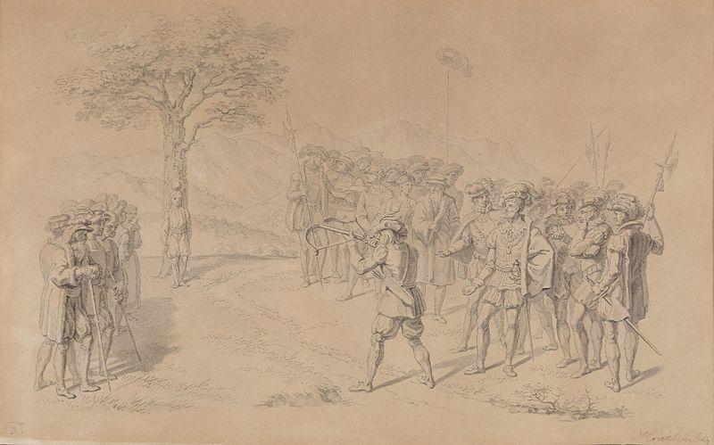 File:Josef Kriehuber Szene aus Wilhelm Tell 1833.jpg