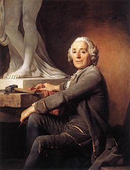 Joseph Duplessis - Christophe Gabriel Allegrain, Sculptor - WGA06874