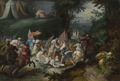 Josua Defeating Amalek (Pauwel Casteels) - Nationalmuseum - 17384.tif