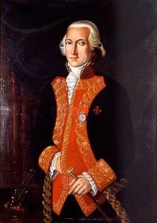 Juan de Lángara Admiral of the Spanish Navy