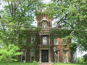 Judge Cyrus Ball House - Judge Cyrus Ball House, June 2011