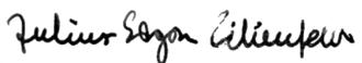 Julius Edgar Lilienfeld - Image: Julius Lilienfeld signature