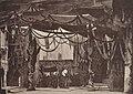 Jungfrau von Orleans Schiller Szenenmodell des Burgtheaters um 1880 Wien, Nationalbibliothek.jpg