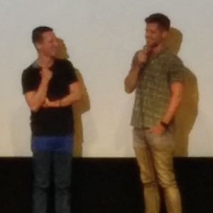 I Am Michael - Director Justin Kelly with Charlie Carver, who plays Tyler