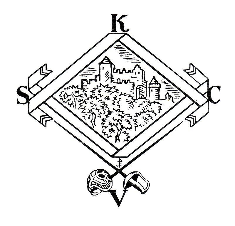 Die Kösener Raute, das Symbol des Kösener Senioren-Convents-Verbandes.