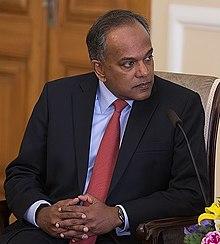 K Shanmugam Wikipedia