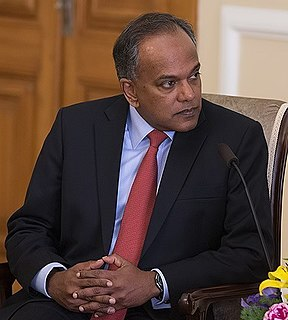 K. Shanmugam Singaporean politician