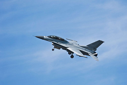 KF-16D High AOA (Angle of Attack), Low-altitude, Low-airspeed demo flight