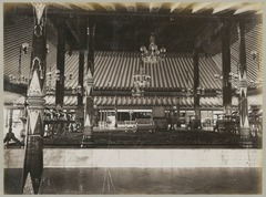 KITLV 12573 - Kassian Céphas - The big pendopo in the Kraton of the Sultan of Yogyakarta - Around 1894.tif