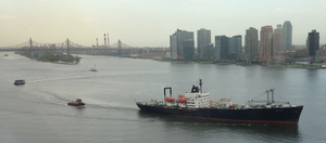 TS Empire State VI - Empire State VI underway on its 2015 training voyage on May 11, 2015.