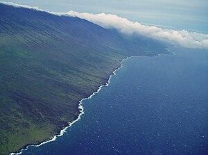 Kaupo, Hawaii -  Kahikinui coastline, Maui