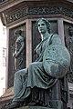 Kaiser Franz-Denkmal Hofburg Wien 2015 Sitzfiguren Stärke 02.jpg