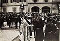Kaiser Karl I. und Kaiserin Zita in Feldkirch am 5. Juni 1917. Karl bereiste vom 1. Juni 1917 bis zum 6. Juni 1917 die Isonzofront, Istrien, Kärnten und Vorarlberg (BildID 15565380).jpg