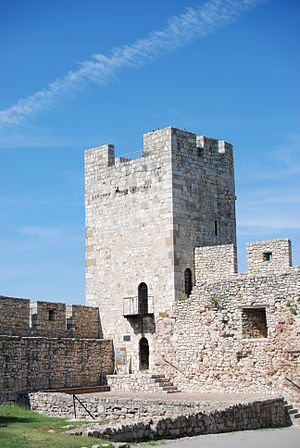 Stefan Lazarević - Despot Stefan Tower in Belgrade Fortress.
