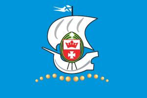 Hanseatic flags - Image: Kaliningrad flag