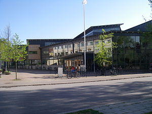 Linnaeus University - LNU's library in Kalmar