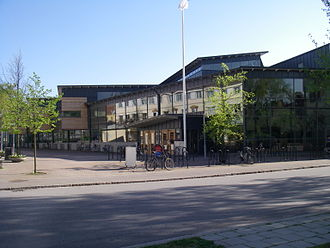 Linnaeus University - LNU's library in Kalmar