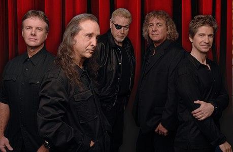 Rock band Kansas in 2008