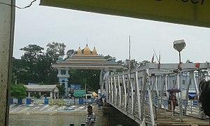 Sagar Island - Kapil muni asharam Main gate Sagar deep