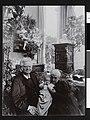 Karoline og Bjørnstjerne Bjørnson på besøk hos Jacob Hegel, Skovgaard, Danmark, ca. 1902 - no-nb digifoto 20160713 00130 bldsa BB0556.jpg