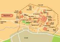 Karta Jerash