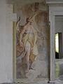 Kartause Mauerbach - bei der Restaurierung freigelegtes Fresko - Detail links.jpg