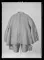 Kasack av brungrått kläde. Förmodligen tillverkad av Fredrich Fewerbrün(Friderich Feurbrun) - Livrustkammaren - 27045.tif