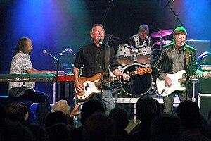 The Kast Off Kinks - From left: John Gosling, John Dalton, Mick Avory, Dave Clarke.