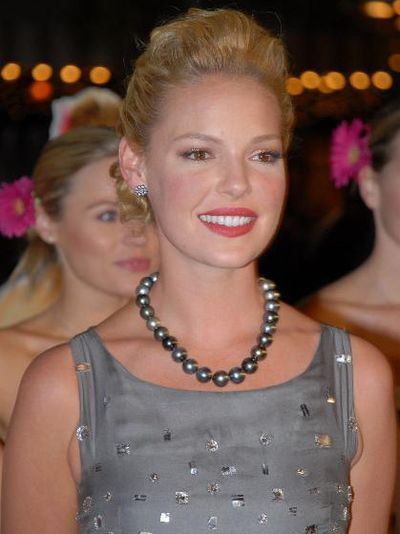 Katherine Heigl, American actress and former fashion model