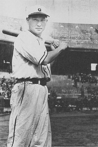Yomiuri Giants - Image: Kawakami Tetsuharu 1946