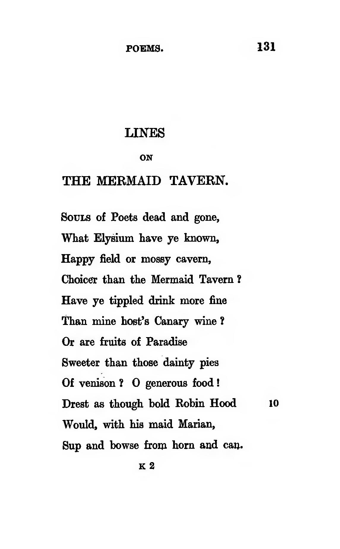 Page Keats Poems Published In 1820 Robertson 1909 Djvu