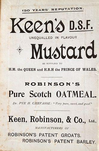 Keen's - Image: Keens mustard