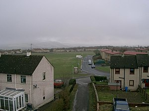 Kelty - Housing scheme on the west side of Kelty